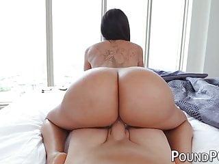 Butt girl destroyed in pov...