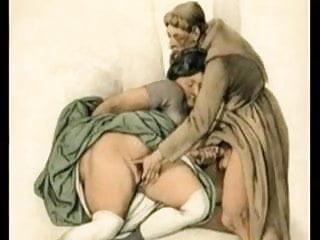 Permissive and nuns monks lascivious obscene abbots