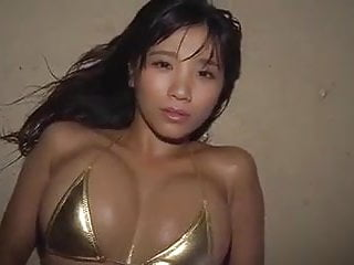 Asian babe beach...