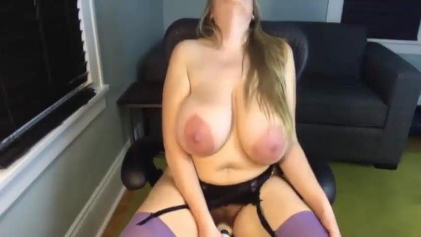 Sexy Big Tit Masturbation