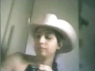 Brazilian Brunette Teen Playing In Webcam