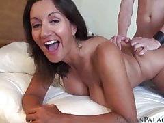 big tit milf persia monir gets hot cum on her hairy pussyfree full porn