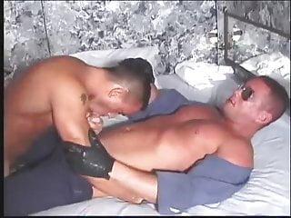 Bathhouse with cop...