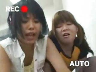 Double reverse japanese gangbang...