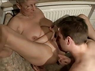 mature woman takes younger cock
