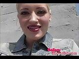 Blonde Kimberly Kane Rubbing Her Clit