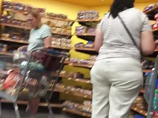 Indian or with wide butt in khakis...