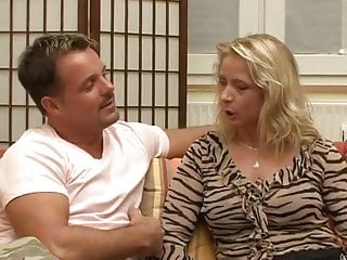 German Mature Wife In Love With Young Big Cock