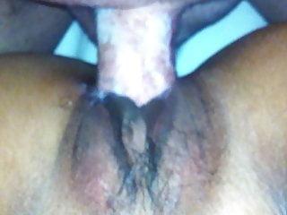 Pussy pulsing around cock pumping white cum...