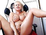Porn Star Angel Wicky live oil cum show at SecretFriends