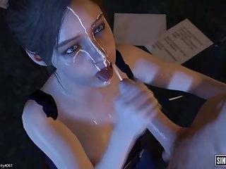 Resident evil blowjob compilation...