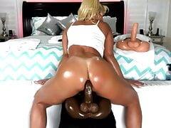 Blond Anal Ride Big Dido