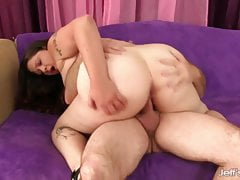 Jeffs Models - Fat Kailie Raynes Cowgirl Compilation 4