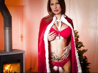 mydirtyhobby - hot maja-bach feels the spirit of christmasPorn Videos