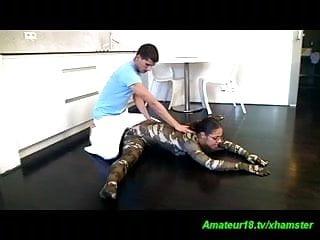 czech gymnast stretching for kamasutra fuck