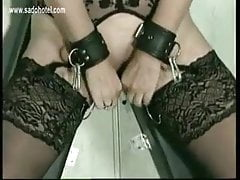 Sweet MILF slave takes her punishment