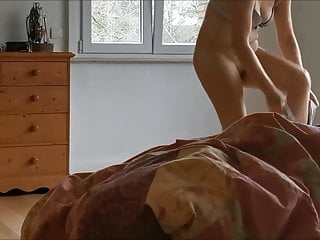 My wife naked on real hidden cam 7