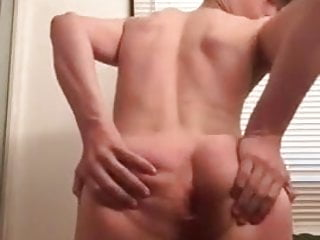 Sexy young cumming...