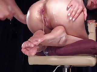 Oiled squirting...