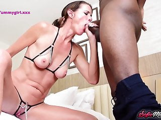 Sofie marie blows bbc after winning contest...