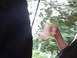 Dick flashing to Desi girls in auto