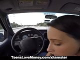 TeensLoveMoney - Busty Babe Gets Towed, Fucked And Paid!