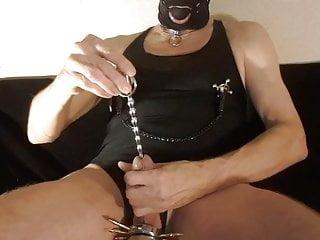 Kinky nipple stretching masoslut...