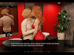 Jessica O Neils Hard-Bathroom Party Sex Threesome