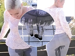 EVA ENGEL: I Pee In My New Jeans! Wet And Messy!