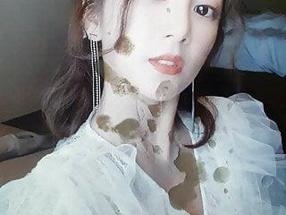 Apink Chorong cum (tribute) #14