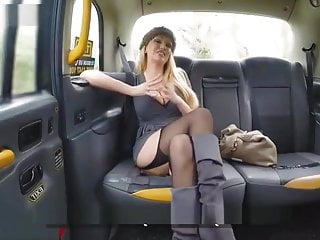 Fake Taxi Busty blonde MILF Amber Jayne sucks and fucks big