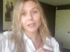 Elizabeth Olsen talking about her favorite movie
