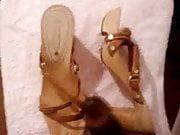 shoes wooden sandals