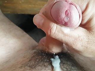Masturbation Cumshot Uncut Foreskin
