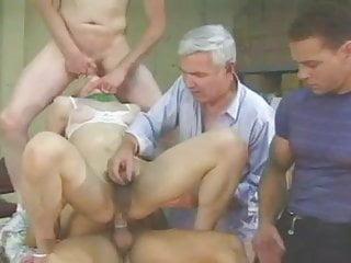 Chinese t girl receives 3 guys sucks all...