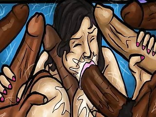 cocks! (Illustration) Black sucking Mom Huge Latin