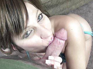 Petite Housewife Brandi Minx Is Swallowing A Stiff Cock