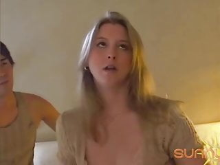 Delicious Blonde Wife Sunny Lane Milks That Asian Dick Dry!