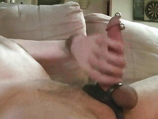 Big cock showing off