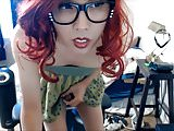 This Redhead Asian gurl is a Wow!
