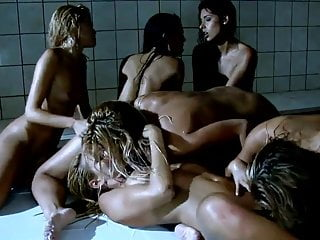 The Swinger Experience Presents Six Lesbian-Beautys in Shower
