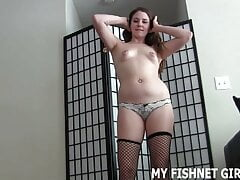 Women in stockings really turns you on, don't they – JOI