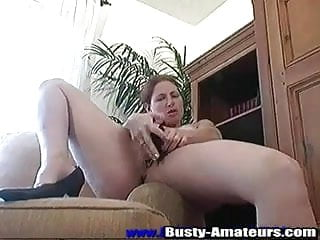 Masturbating is Ginger's favorite part of the day