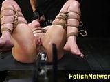 FetishNetwork Kylie Rogue big clit bound
