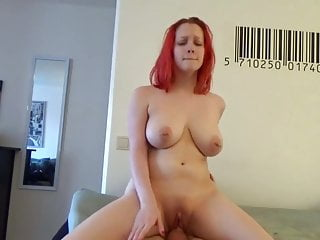 Huge Boobed Ginger Banged Intensely To Orgasm