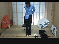 Chinese policewoman bondage