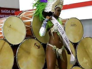Sexy Samba dancer.