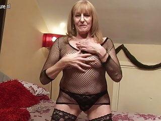 65yo british grandmother still dirty whore...