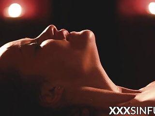 Naughty oiled babe erotic 69...