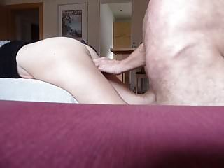 Amateur fuck my wife 56yo and anal finger...